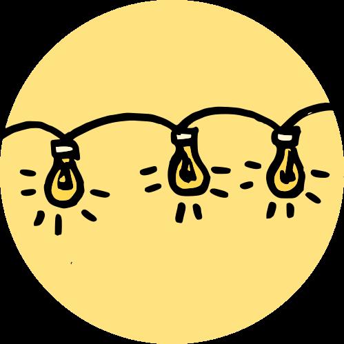 Ozdobná světýlka na plot