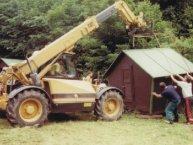 2001 - stěhování tábora