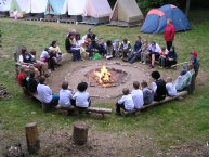 Tábor Nečín-Jablonce (v červenci 2007)